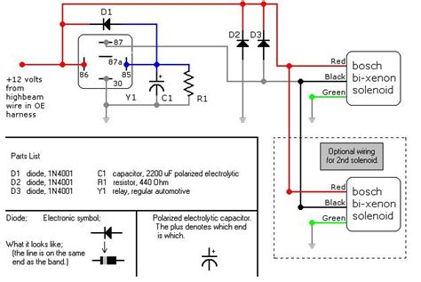 hid relay capacitor diagram 28 images 100 hid wiring