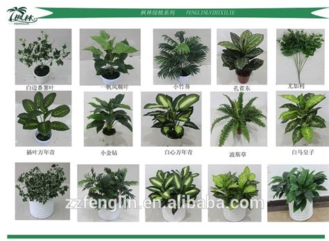 indoor decorative plants nearly natural wholesale artificial potted plants for