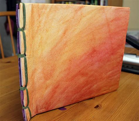 Handmade Books Ideas - ancient book binding craft for children to teach