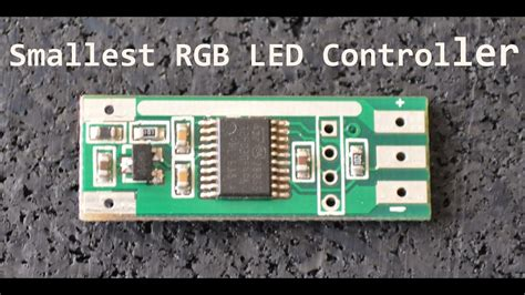 smallest addressable rgb led controller - Addressable Led Controller