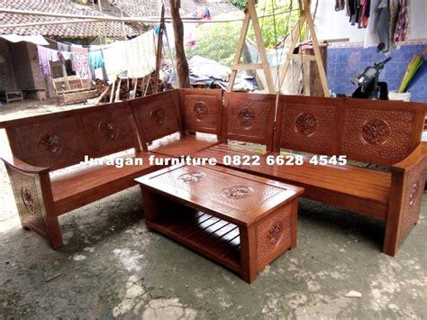 Kursi Sudut Kayu Mahoni kursi sudut kayu minimalis terbaru juragan furniture jepara juragan furniture jepara