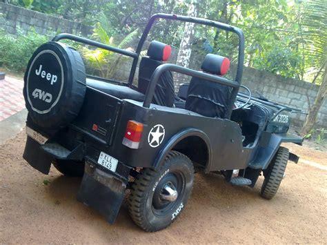 mahindra jeep modified mahindra cj 500d my modified jeep got bull bars