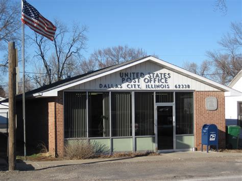 Western Springs Post Office by Dallas City Illinois Post Office Post Office Freak