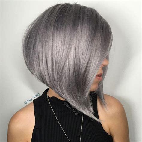 best shoo for gray hair 15 short grey hair styles short hairstyles haircuts 2017