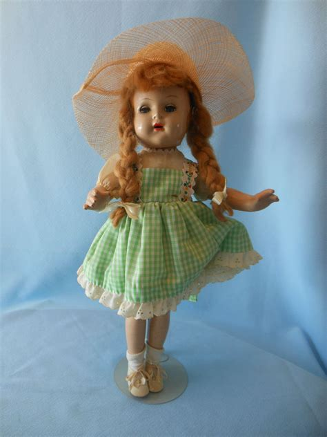 composition doll vintage vintage unmarked 18 quot composition doll with braids ebay