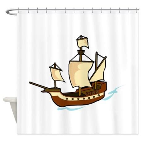 pirate shower curtain hooks pirate shower curtain by graphicdream