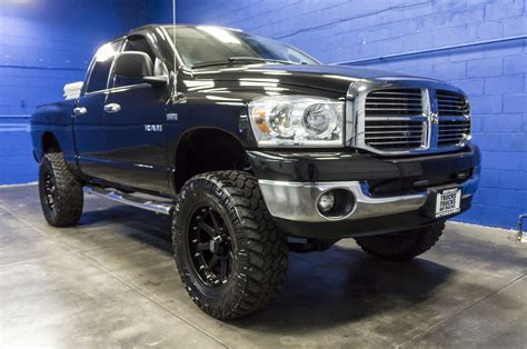 2008 big horn dodge ram 1500 used lifted 2008 dodge ram 1500 big horn 4x4 truck for