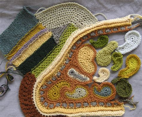 freeform knitting and crochet patterns freeform scrumbling in knit and crochet