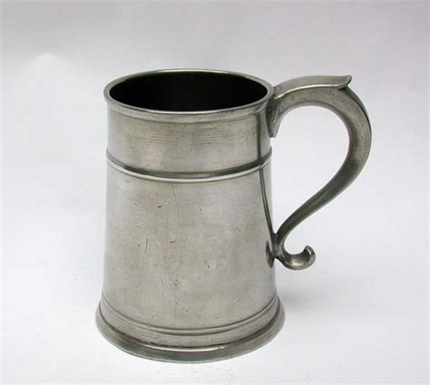 pewter mug one of the finest connecticut pewter pint mugs extant