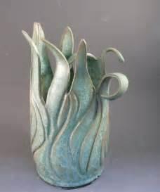 Handmade Pottery Ideas - best 25 green vase ideas on