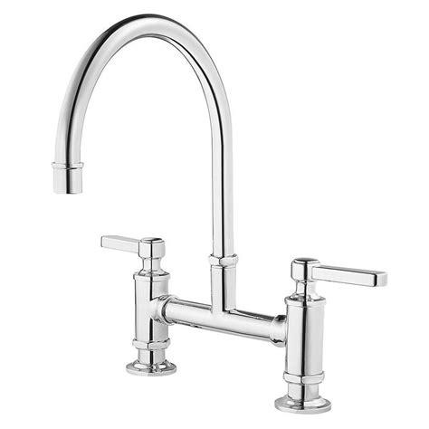 deck mount kitchen faucet shop pfister port haven polished chrome 2 handle deck