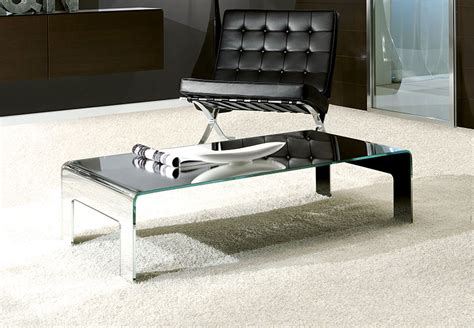 Modern Unico Feet Coffee Table In 5 Glass Finish Options Modern Coffee Table Uk