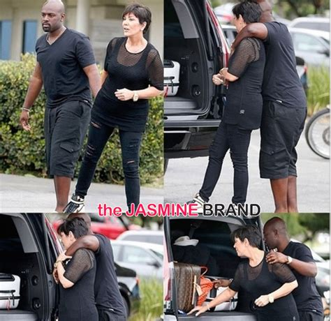 shady past kris jenners new boyfriend corey gamble was celebrity cup cakin kris jenner spotted with rumored