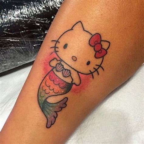 small hello kitty tattoos best 25 hello tattoos ideas on