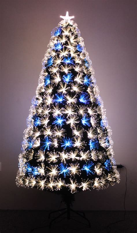 white fibre optic christmas tree the vesuvius fibre optic fir 3ft to 8ft