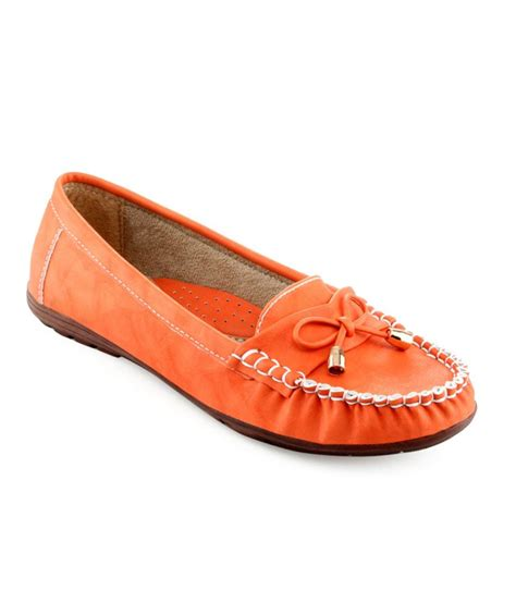 shuz touch orange casual shoes price in india buy shuz