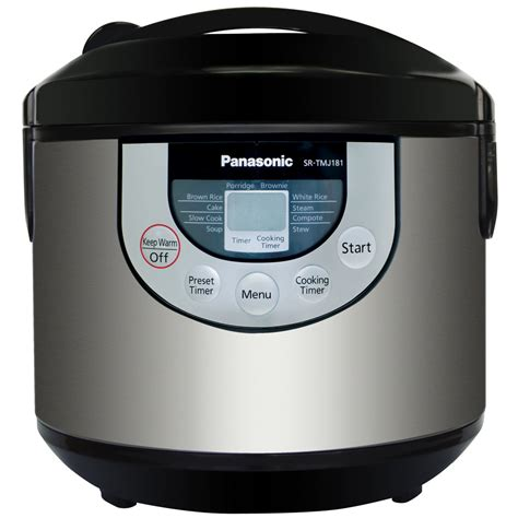 Multi Cooker Panasonic panasonic sr tmj181 10 cup fuzzy logic electronic multi cooker