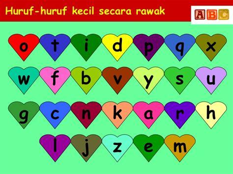 Huruf Scrabble Kecil X 3 Huruf huruf kecil
