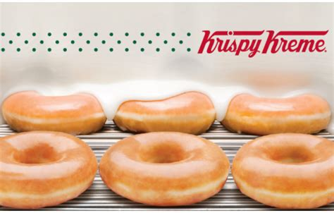 25 50 100 krispy kreme gift card ebay - Does Krispy Kreme Have Gift Cards
