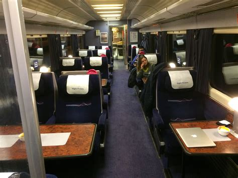 cafe car on gwr riviera service rail passenger