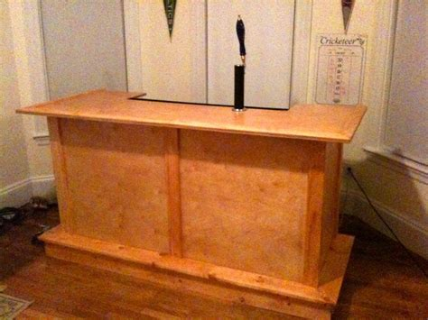 built in kegerator hand crafted bar built in kegerator hand crafted