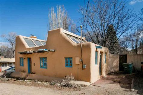 adobe style home small pueblo style house plans
