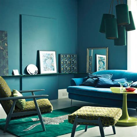 Blue And Living Room Ideas by Midnight Blue Living Room Living Room From Housetohome Co Uk
