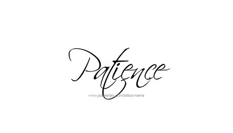 patience name designs