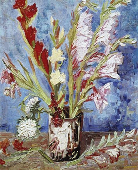 Gladiolen In Der Vase by Vincent Gogh K 252 Nstler Gem 228 Lde Kunstdruck Vase Mit