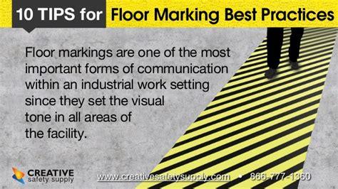 Floor Plan Of Factory 10 floor marking tips