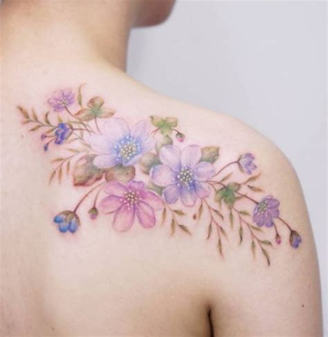10 trendiest watercolor tattoos for women awesome tat
