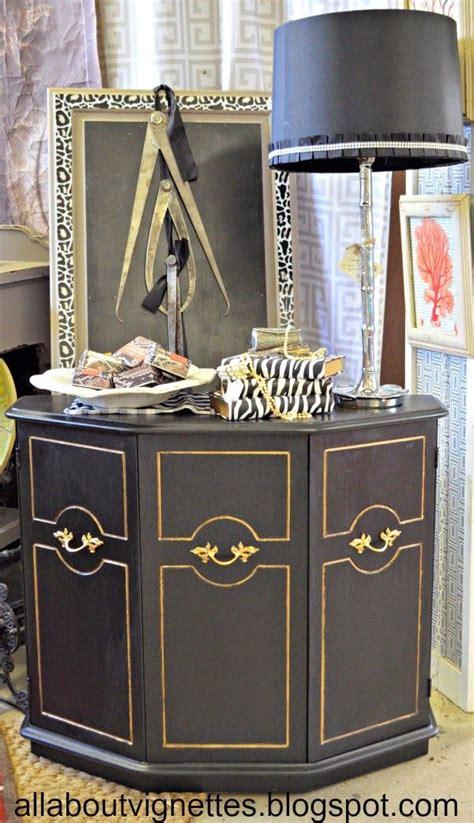 ideas black distressed furniture