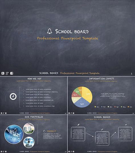 School Board Template 15 Education Powerpoint Templates For Great School