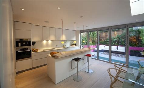 kitchens extensions designs rear kitchen extension google search house pinterest