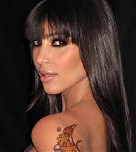 kim kardashian tattoos japanese tattoos