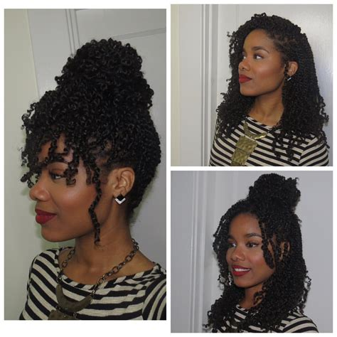 different styles to pack with kinkin braids photo by jeanneep quot this is mambo hair it s synthetic