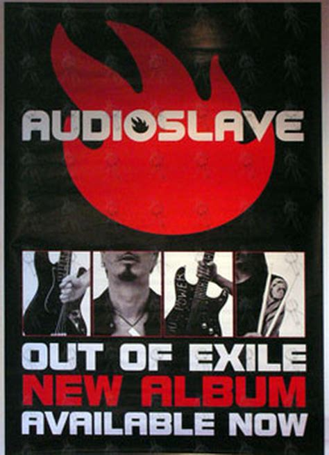 Audioslave Out Of Exile T Shirt Size M audioslave out of exile album promo poster billboard sizes posters records