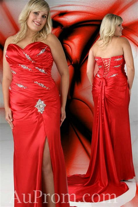 Girls plus size formal dresses