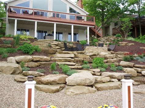 hill landscaping ideas 1000 images about garden landscape stuff on pinterest