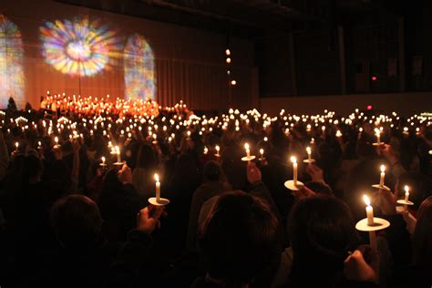 92nd Annual Candlelight Service St Lawrence University Candle Light Service