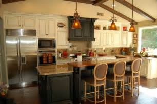 rustic kitchen island with extra good looking accompaniment best ideas for