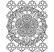 Valentines Mandala Colouring Pages