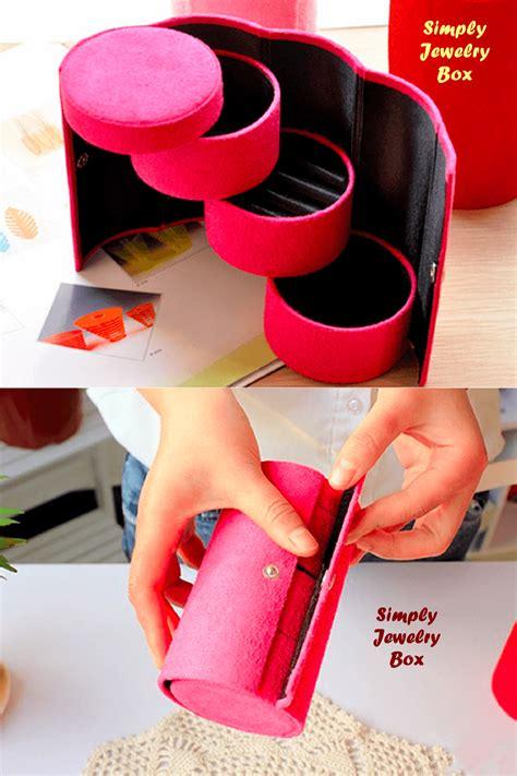 Jual Kotak Musik Bogor kotak perhiasan 4 tingkat unik simple dan mudah dibawa