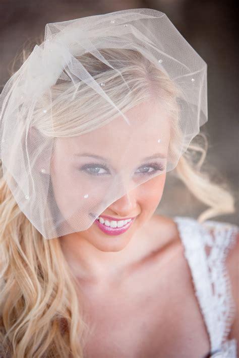 Handmade Birdcage Veil - the canopy artsy weddings weddings