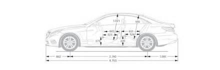 Mercedes S Class Dimensions Mercedes E Class Coup 233 Dimensions