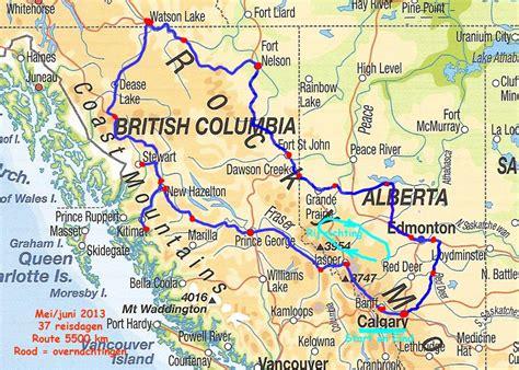 canada west rocky mountains 3829707460 2013 naar noord canada gereden route west canada