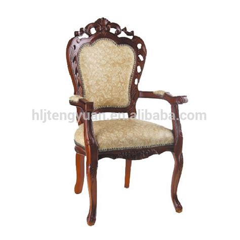 solid carved wood baroque dining chair buy baroque