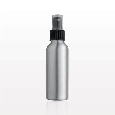 aluminium bottle qosmedix aluminum bottle and sprayer with overcap