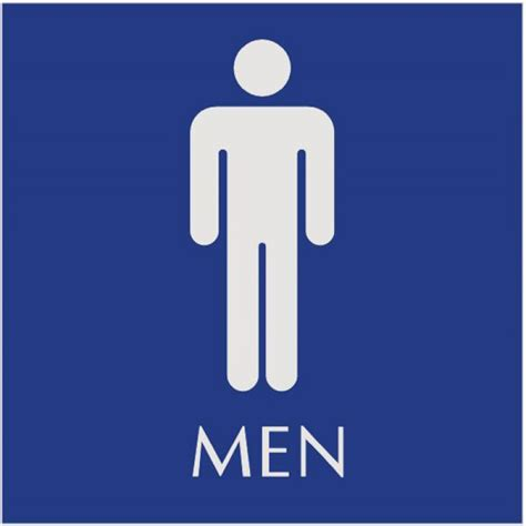 female comfort room signage basic engraved restroom signs men