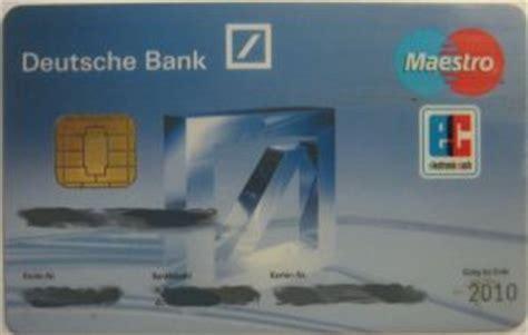 deutsche bank kreditkarte gold deutsche bank